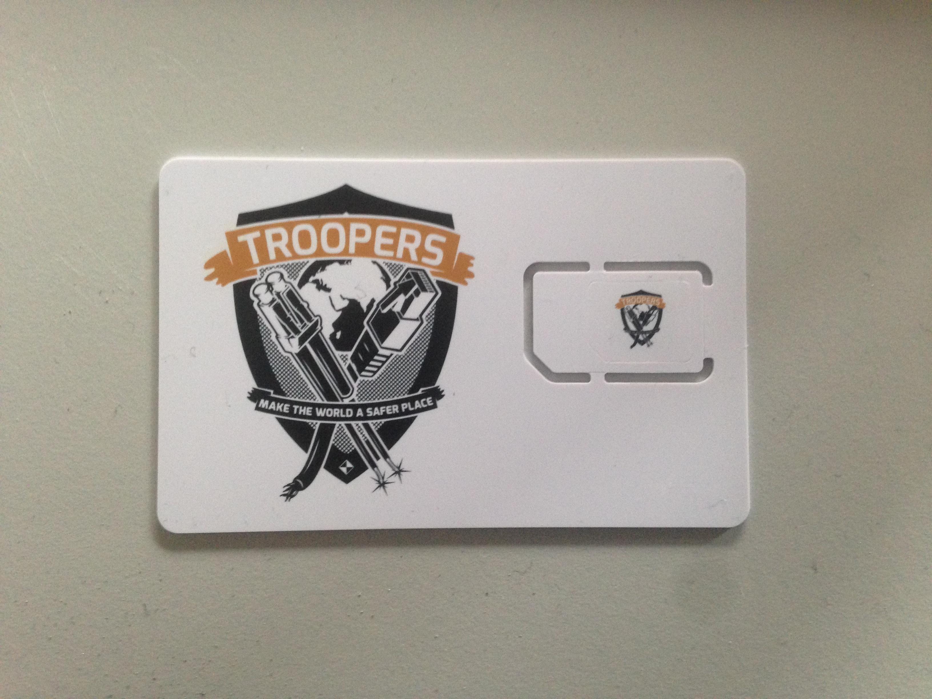 Troopers SIM
