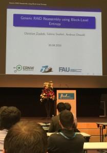 DFRWS EU 2016 Talk Forensic Raid Recovery